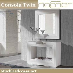 Consola Moderna Twin Nacher