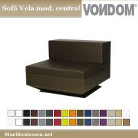 Sofa Vela Modulo Central Vondom