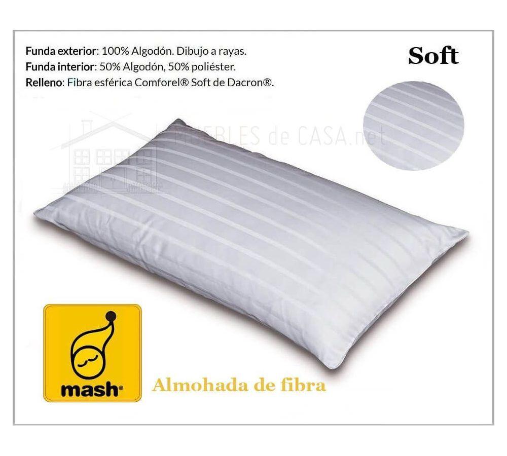 Almohada Mash Fibra Soft