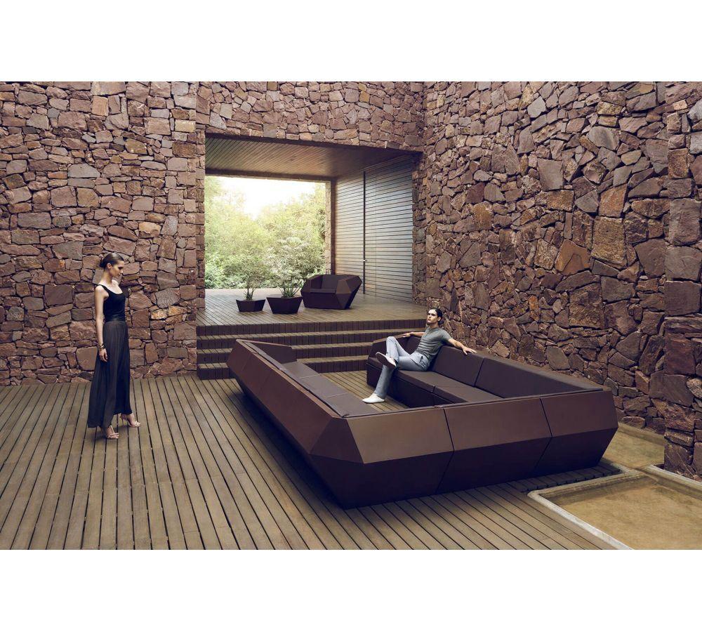 Sofá de Exterior Vondom Faz