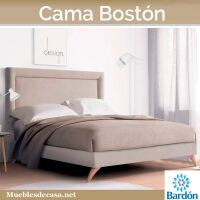 Cama Tapizada Boston