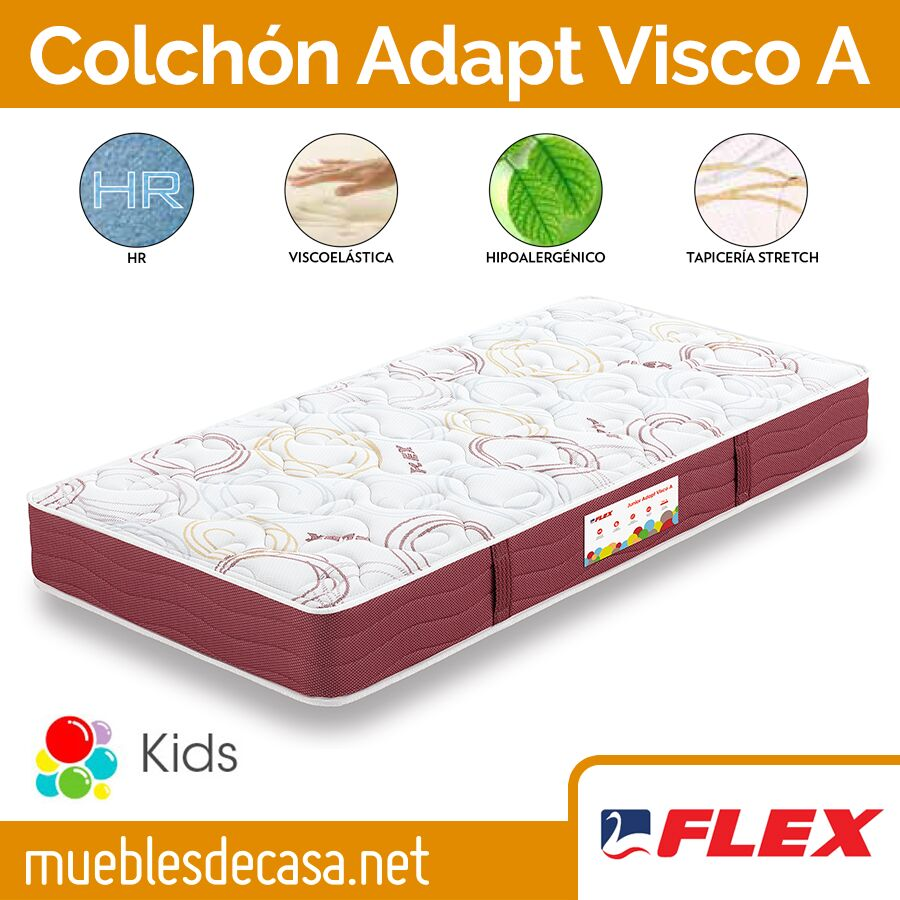Colchon Flex Junior Adapt Visco A
