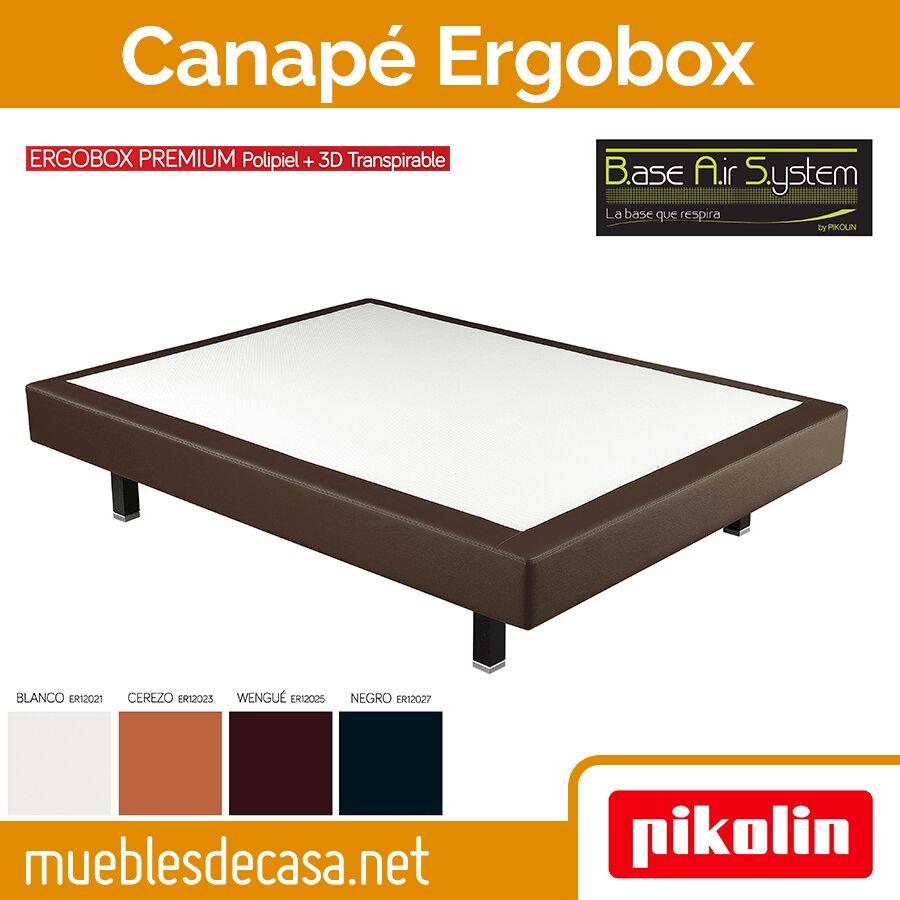 Base Tapizada Flexible Ergobox Stretch Transpirable Pikolin