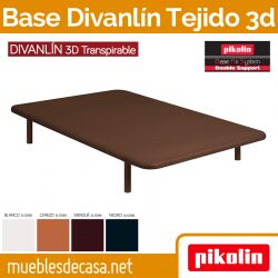 Base Tapizada Divanlin Slim 3D Transpirable pikolin