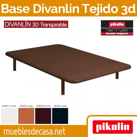 Base Tapizada Pikolin Divanlin Slim 3D Transpirable