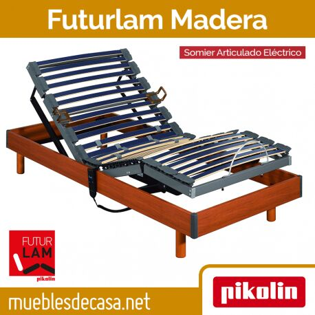 Somier Articulado Eléctrico Pikolin Futurlam Madera