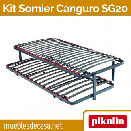 Cama Nido Canguro Pikolin con Somier SG20