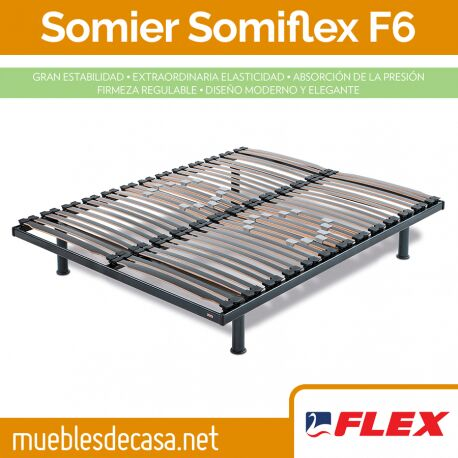 Somier Flex Fijo Somiflex F6