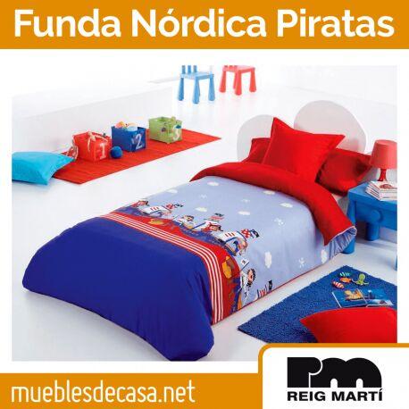 Funda Nórdica Infantil Reig Martí Piratas