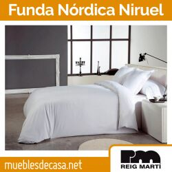 Funda Nórdica Algodón 100% Niruel de Reig Martí