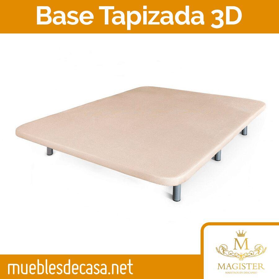 Base Tapizada Transpirable 3D de Magister