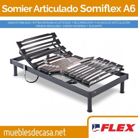 Cama Articulada Flex Somiflex A6