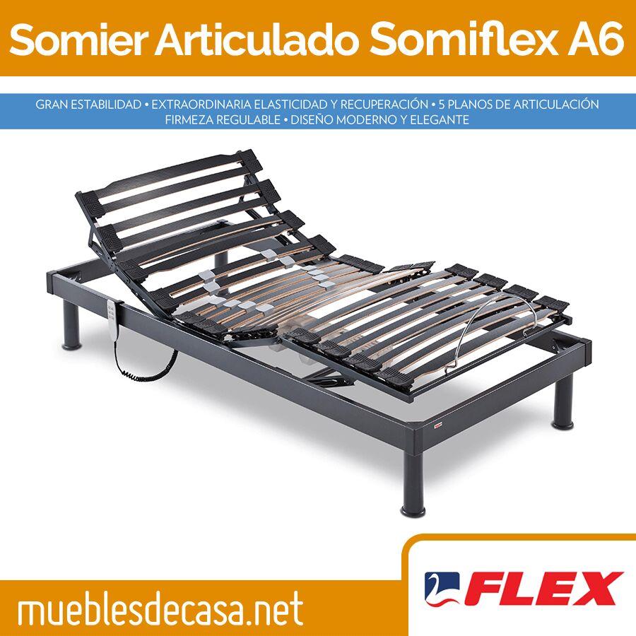 Somier Flex Articulado Somiflex A6