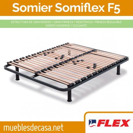 Somier Flex Fijo Somiflex F5