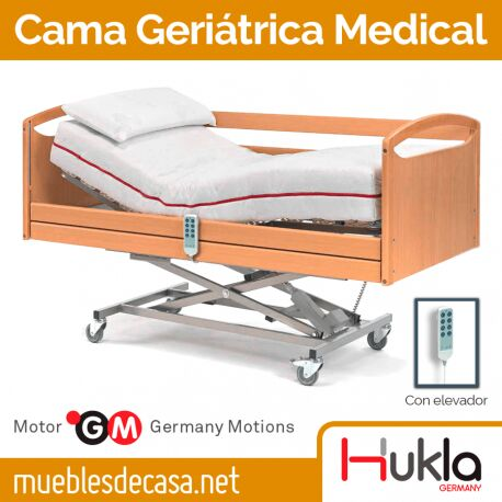 Cama Geriátrica Articulable Hukla Medical