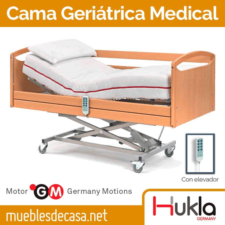 Cama Geriátrica Articulable Medical de Hukla