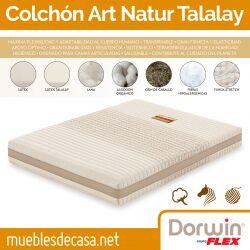 Colchón Talalay Natur Dorwin Articulado