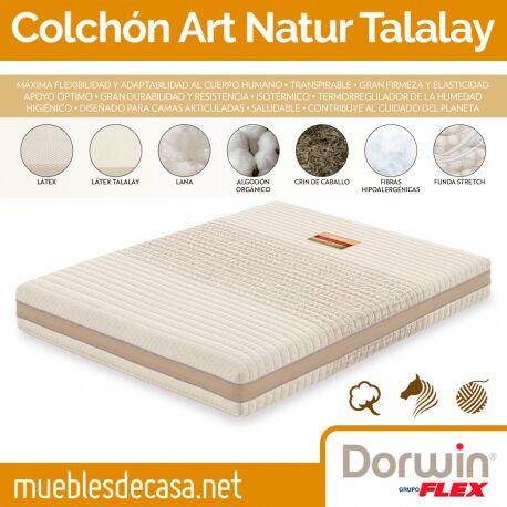 Colchón Articulado Dorwin Talalay Natur
