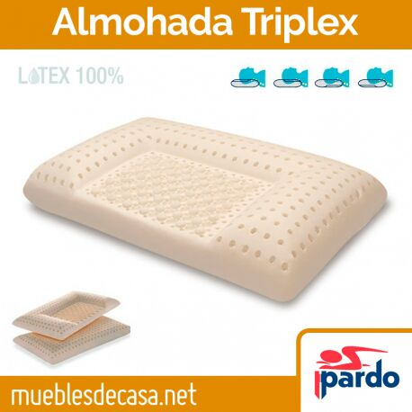 Almohada Latex Triplex de Pardo