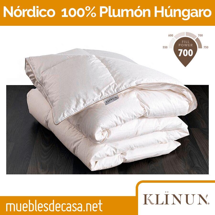 Edredón Nórdico Klïnun 100% plumón de Oca Húngara