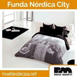 Funda Nórdica Jacquard City de Reig Martí