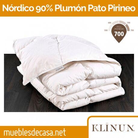 Edredón Nórdico Klinun 90% Plumón Pato Pirineos 220 gr