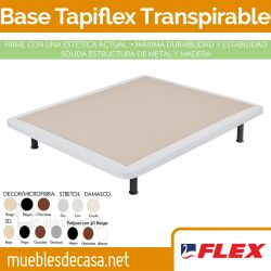 Base tapizada Tapiflex Crudo Transpirable