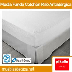 Media Funda de Colchón Pikolin Home Antialérgica Rizo FC37