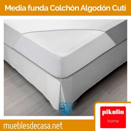 Protector de Colchón Pikolin Home Cutí 100% algodón FC27