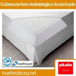 Cubrecolchón Acolchado y Antialérgico PA30 de Pikolin Home