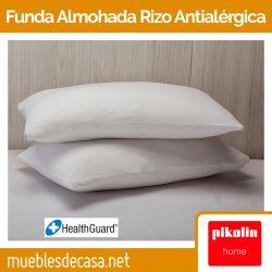 Funda de Almohada de Pikolin Home Rizo Antialérgica Transpirable e Impermeable FA82