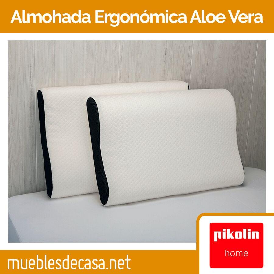 Almohada Ergonómica Aloe Vera AH 32 de Pikolin Home