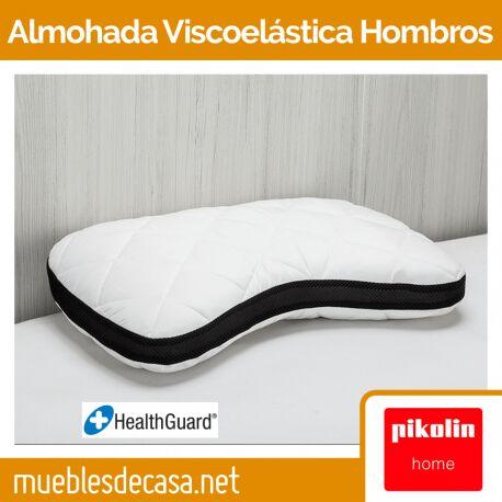 Almohada Pikolin Home Viscoelástica Hombros Antialérgica Doble Funda AH19