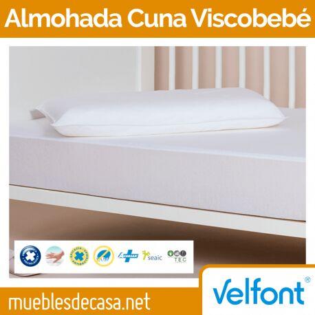 Almohada Cuna Velfont Viscobebé Antiácaros