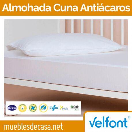 Almohada de Cuna Velfont Antiácaros