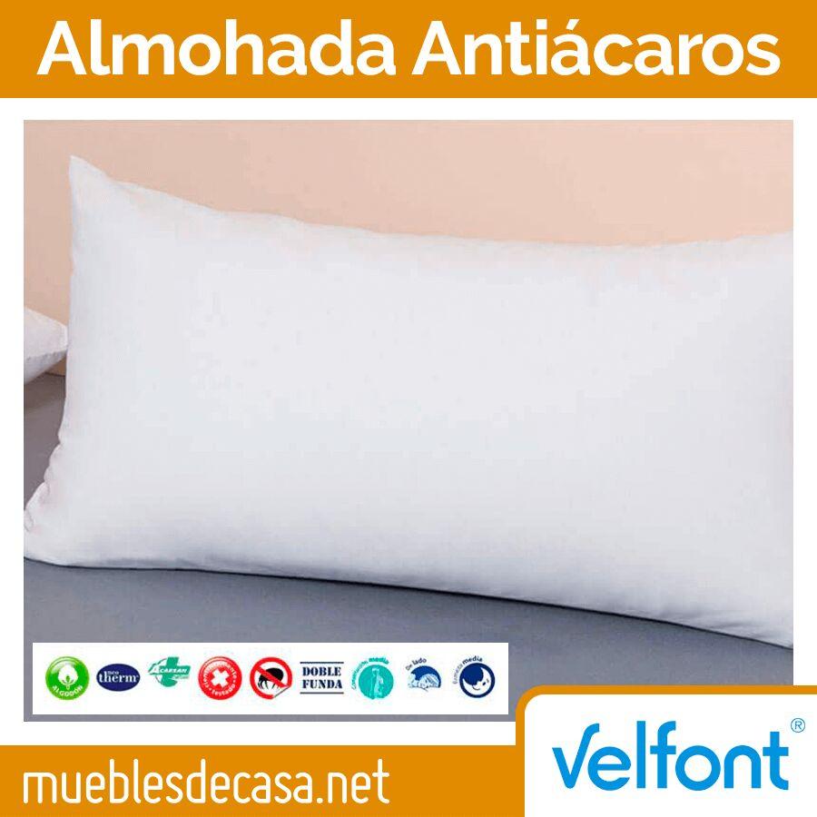 Almohada de Fibra Antiácaros Velfont
