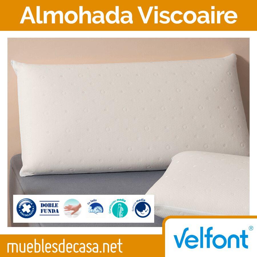 Almohada Viscoelástica Viscoaire de Velfont