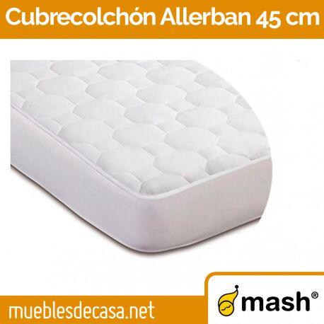 Cubrecolchon Mash Allerban Platabanda a 45 cm