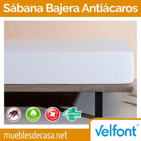 Sábana Bajera Velfont Antiácaros