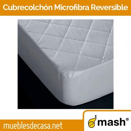 Cubrecolchón Mash Microfibra Reversible