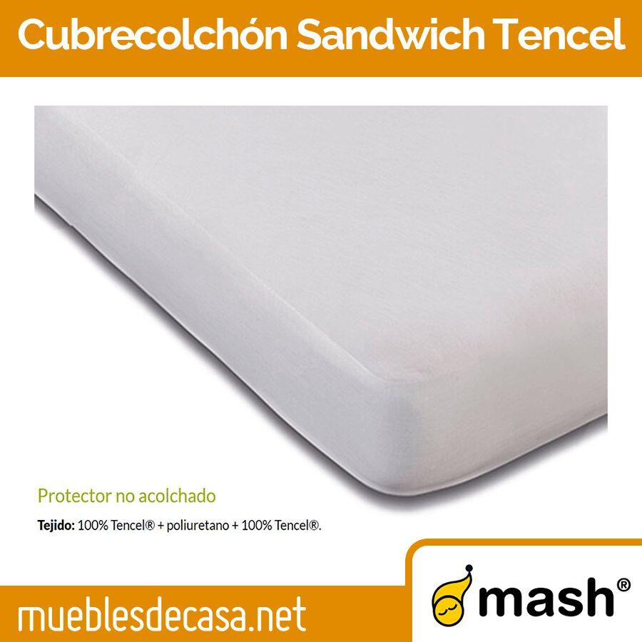 Cubrecolchón no acolchado Mash Sandwich