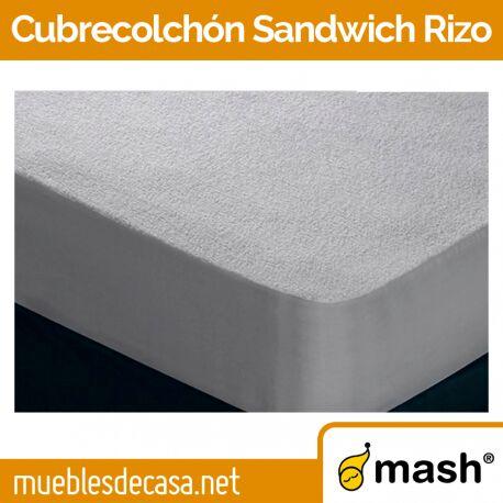 Cubrecolchón Mash Sandwich Rizo