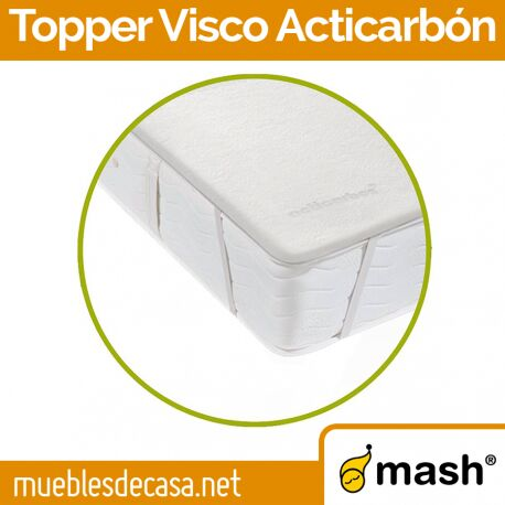 Topper Mash Visco Acticarbón