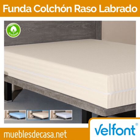 Funda de Colchón Velfont Raso Labrado