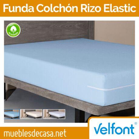 Funda de Colchón Velfont Rizo Elastic