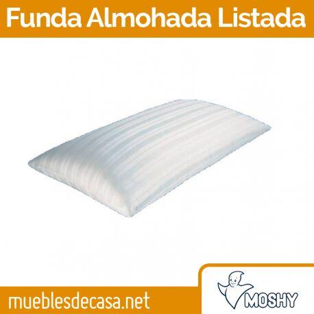 Funda de Almohada Moshy Listada
