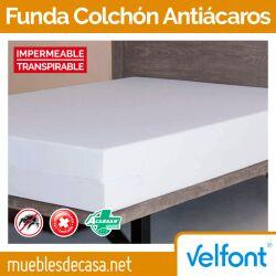 Funda de Colchón Antiácaros Acarsan Impermeable de Velfont