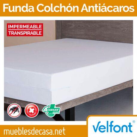 Funda de Colchón Velfont Antiácaros Impermeable
