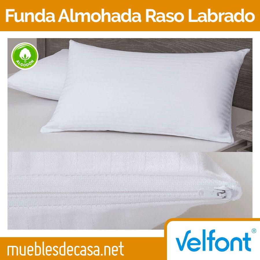 Funda de Almohada Raso Labrado de Velfont