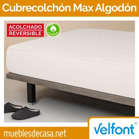 Cubrecolchón Velfont Max Algodón Reversible